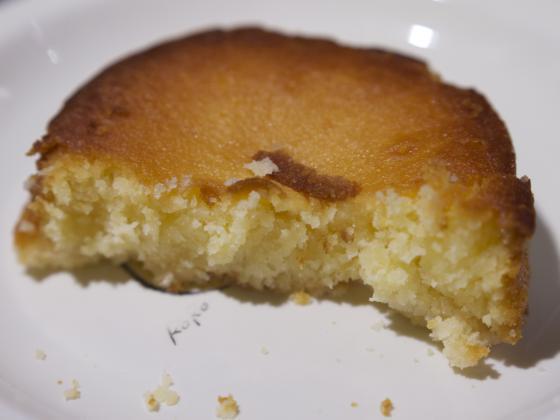 半分食べてみた山崎製パン株式会社のチーズタルト3種のチーズ入り