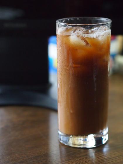 カルピスのアイスコーヒー割り