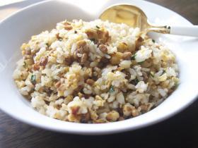 納豆焼き飯