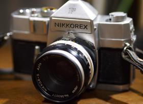 父親にもらったフィルムカメラ